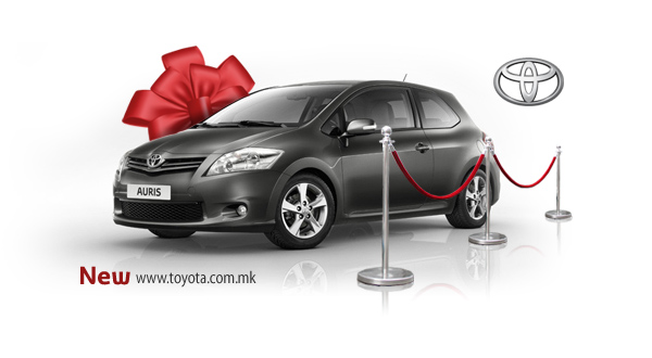 Toyota Macedonia New Website